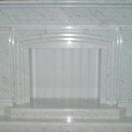 Каминный портал из мрамора